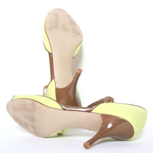 J. Crew Shoes - J Crew Italy Green Brown Shoes 7.5m